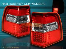 07-11 FORD EXPEDITION L.E.D Tail Lights RED Brake Lamps Assembly