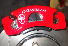 TOYOTA Corolla VVT-I 1.3 1.6 T3 Brake Caliper Decals Stickers - ALL OPTIONS