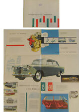 Wolseley 15/60 Farina 1959-61 Original UK colour Sales Brochure No. H&E 58138