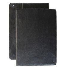 Premium Leder Cover für Apple iPad Air 1 Tablet Schutzhülle Case Tasche schwarz