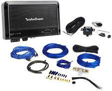 Rockford Fosgate R250X1 250 Watt RMS Mono Block Car Audio Amplifier + Amp Kit