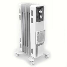 Dimplex 1500W Oil Portable Column Heater/Heating w/Turbo Fan/Thermostat WHT