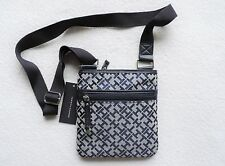 NWT Tommy Hilfiger Women's Signature Crossbody Purses, Navy Blue, Small