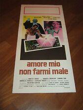 LOCANDINA, S/5 AMORE MIO NON FARMI MALE WALTER CHIARI LUCIANO SALCE FANI SINDONI