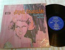 JANE MORGAN The Last Time I saw Paris LP 1964 Colpix SCP-469 A1/B1 Mint shrink
