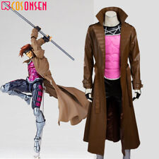 Cosonsen X-Men Gambit Cosplay Costume Remy Etienne LeBeau Jacket Only All Sizes