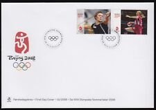 Norway 2008 FDC Beijing Olympic Games