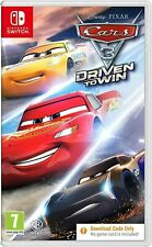 Cars 3 Driven to Win Switch (Code in a Box only, NO PHYSICAL DISK INÐ¡LUDED)