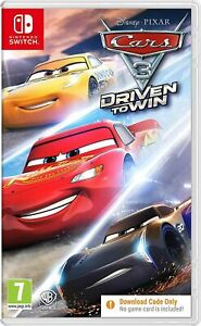 Cars 3 Driven to Win Switch (Code in a Box only, NO PHYSICAL DISK INСLUDED)