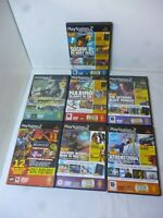 Playstation 2 Official Magazine Demo Discs x 7 Playable Demos PS2 Gaming
