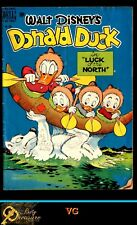 "WALT DISNEY'S DONALD DUCK, DELL FC #256 VG 4.0 IN ""LUCK OF THE NORTH"" (12/49)"