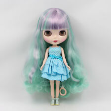 """12"""" Neo Blythe  Mix Hair Nude Doll from Factory50001+Gift"""