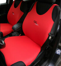 2 red vest front seat covers for  Renault various models