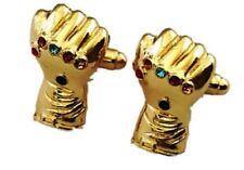 Avengers Infinity War Thanos Cosplay Metal Cufflinks