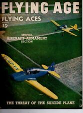 "Flying Age Magazine August 1945 Vol.50 No 1 ""The Threat of the Suicide Plane"""