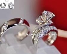 Wedding VVS1 Round Fine Diamond Rings