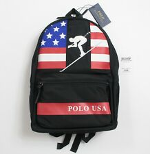 Polo Ralph Lauren Ski 92 Suicide Downhill Skiing Backpack Bag - Black - RRP £239