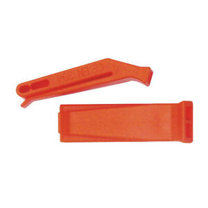 NDuR survival SAFETY orange WHISTLE new 51212 hiking camping gear outdoor 2-pack