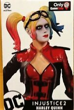 DC COLLECTABLES INUSTICE 2 HARLEY QUINN STATUE FIGURE GAMESTOP EXCLUSIVE