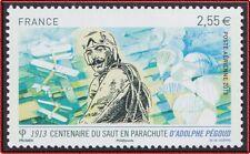 2013 FRANCE PA 76** Adolphe Pégoud Centenaire Saut en Parachute, France 2013 MNH
