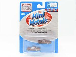 N Scale 1:160 CMW Mini Metals 50235 '67 Ford Custom 500 Vehicle 2-Pack SEALED