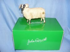 John Beswick Farmyard Black Faced Ewe Sheep JBF79 Figurine Present Gift NEW