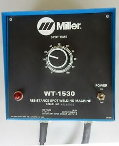 MILLER RESISTANCE SPOT WELDING TIMER WT-1530 230 VAC 1.5KVA NEW OLD STOCK