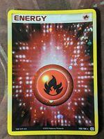 Holofoil Fire Energy - EX Emerald Pokemon TCG 102/106