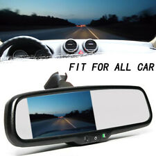 "Auto Car Rearview Mirror 4.3"" TFT LCD Display Monitor Mirror Dimming"