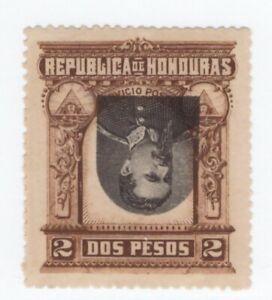 Honduras,Scott#62a,2p,Head inverted,MNH,Scott$225