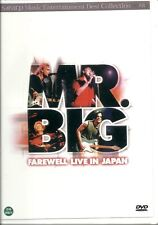 MR BIG ( FAREWELL LIVE IN JAPAN )  NEW  DVD