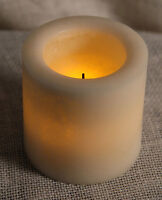 Candle Impressions 4x4 Smooth Mottled Flameless Candle Timer CAT61404SMOO