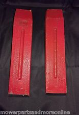 2 x 9 INCH 1.5kg STEEL SPLITTING WEDGE IDEAL FOR SPLITTING POSTS AND FIRE WOOD