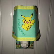 Pikachu  Nightlight With A  Matching Outlet Cover