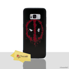 Marvel Case/Cover Samsung Galaxy S7 (G930) / 3D Silicone Gel / Deadpool - Logo