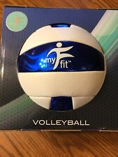 My Fitness Volleyball Blue And White New