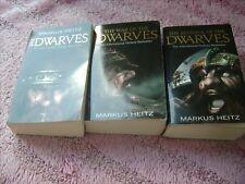 MARKUS HEITZ  THE DWARVES       SET OF 3  1 TO 3   MEDIUM    PAPERBACK