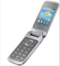 Samsung GT-C3590  2G GSM Silver Unlocked Big Buttons Mobile phone free shipping