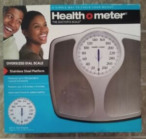 New Health O Meter Oversized Dial Scale 330 lbs ~ The Doctor's Scale