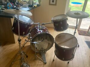 Session Pro 4 piece drum set with stands and cymbals