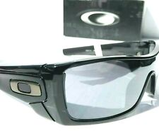 NEW* Oakley BATWOLF Black Ink w POLARIZED Galaxy Mirrored lens Sunglass 9101