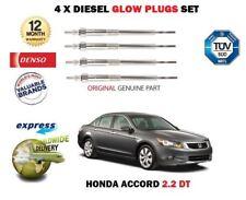 pour Honda Accord 2.2 TD + Dtec 2003- > NEUF Diesel 4x Bougies de préchauffage