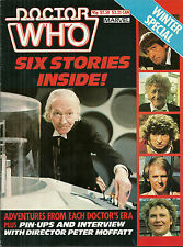 RARE Back Issue - DOCTOR WHO MAGAZINE - Winter Special 1985 - William Hartnell