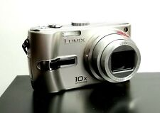 Panasonic LUMIX DMC-TZ3 7.2MP Digital Camera - Silver w/ extras