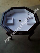 "18""x15"" Elegant Marble Handmade Black Stand/Base Decor E582"