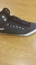 Brand New With Box Mens Dunlop Navy LACED Fashion Trainers SIZE UK 9 / EU 43