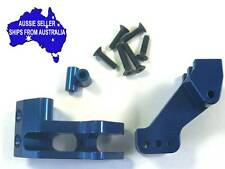 Blue alloy rear link mount  for Axial Yeti 1:10 RC Truck.