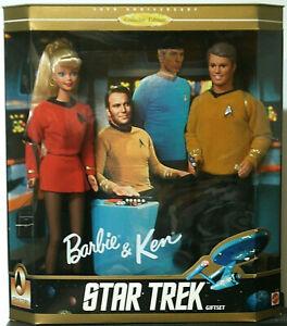 Barbie & Ken • STAR TREK: 30th Anniversary Collector Edition Gift Set • MIB