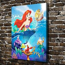 Disney The little mermaid Paintings HD Print on Canvas Home Decor Wall Pictures