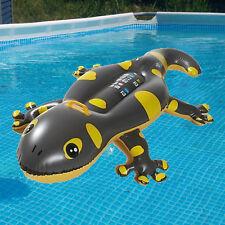 GECKO Rider Wasser Reittier Spielzeug, Matratze mit Griff, 2 Luftkammern 160cm
